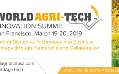 GroGuru Attending World Agri-Tech Innovation Summit on March 19th-20th