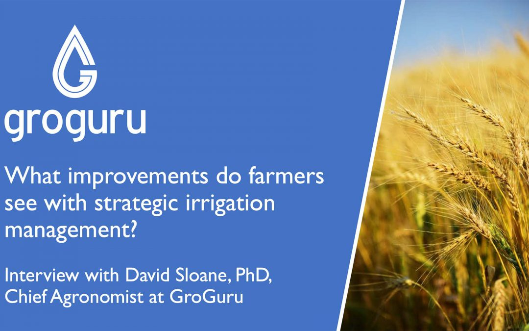 Improvements Farmers See With Strategic Irrigation Management