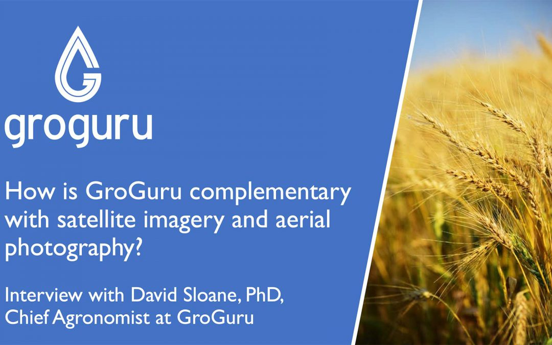 GroGuru: Complementary with Satellite Imagery and Aerial Photography